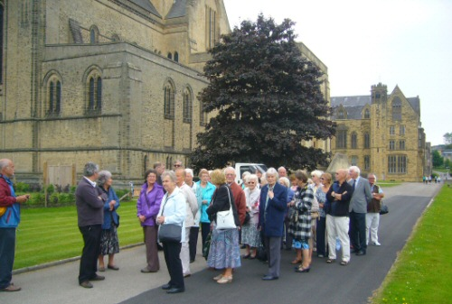 BLG arrives at Ampleforth Abbey