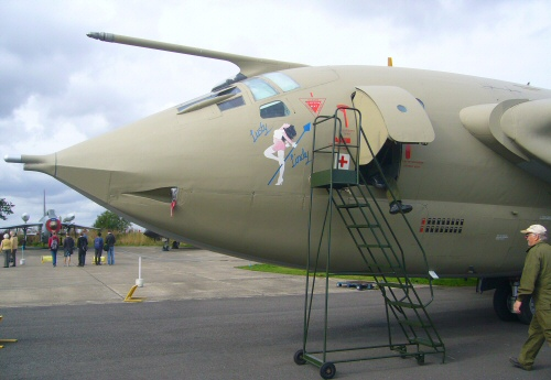 Victor Nuclear Bomber at Yorkshire Air Museum