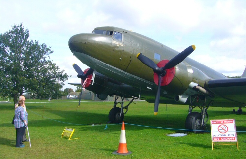 DC3 in Yorkshire